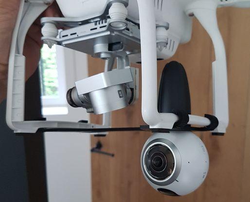 Drone - DJI Phantom 3 - proteção