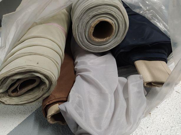 Bela materiału do szycia tkanina siatkowana