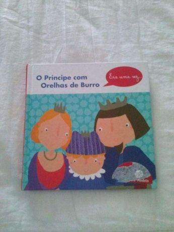 Livros infantis (cinco), portes grátis