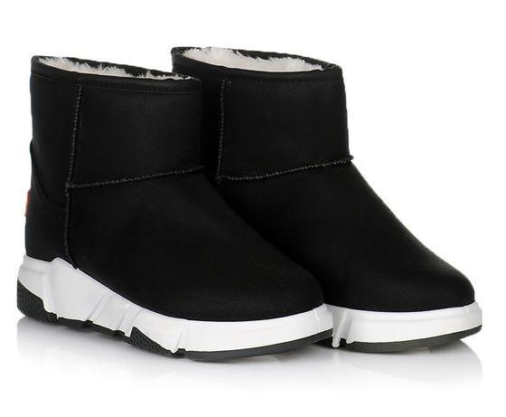 Черные женские сапоги зима зимняя угги обувь 36 37 38