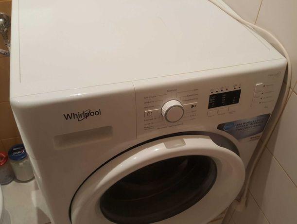 Pralka ładowana od przodu wolnostojąca Whirlpool: 6 kg - FWL61283W PL