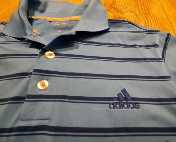 J.nowa koszulka polo Adidas r. S