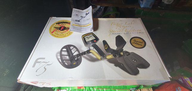 Металлоискатель Fisher F75 LE Black