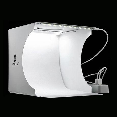 Оригинал! 2LED! Lightbox 25 Light Box Лайтбокс Фотобокс Фото Бокс Фон