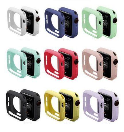 Чехол бампер силиконовый для Apple Watch 6,5,4,3,2,1 Эппл вотч