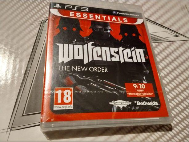 Wolfenstein the NEW ORDER PS3 Zafoliowana Polska dystrybucja