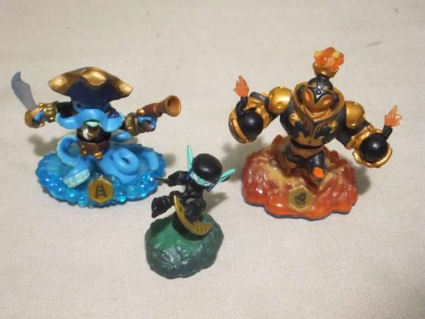 Skylanders Swap Force - Wash Buckler + Ninja Stealth Elf + Blast Zone