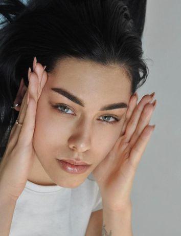 Нужны модели на перманентный макияж бровей