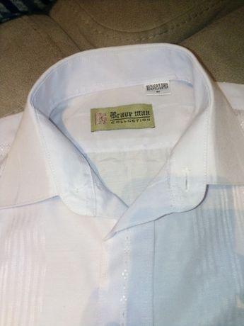 Рубашка белая футболка