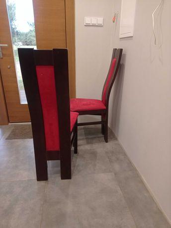 Krzesło wysokie kolor wenge