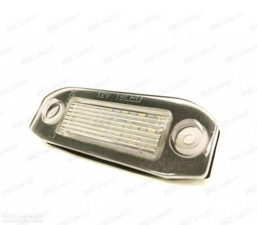 LUZ DE MATRICULA LED PARA VOLVO C30, S40, S60, S80, V70 Y XC