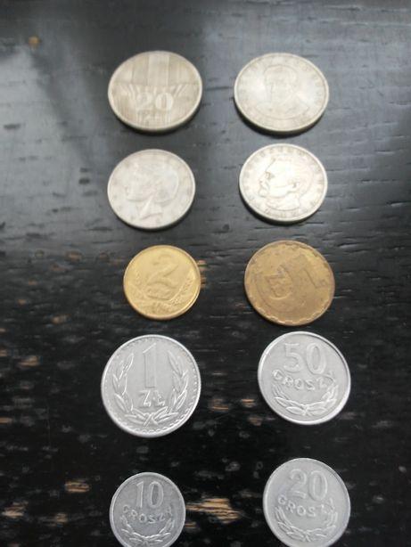 Monety PRL rozne