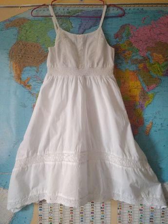 Хлопковые летние платья нарядное платье 9-10 лет