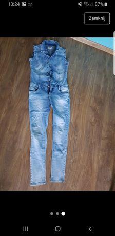 Sprzedam piękny kombinezon z miękkiego Jeansu! :) kontakt w opisie!