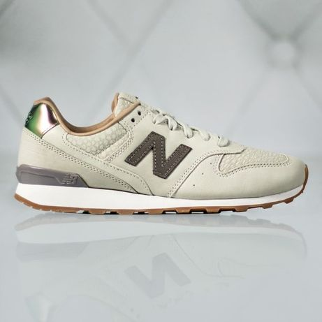 New balance beżowe buty damskie sportowe adidasy 996