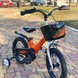 4 цвета! двухколесный велосипед Hunter 14,16,18 дюймов, магниев.рама