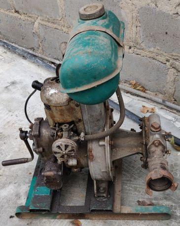 Насосный агрегат, мотопомпа, подача 13 м2/ч