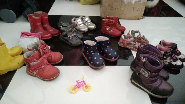 Пакет обуви 21-24рр. 8 шт