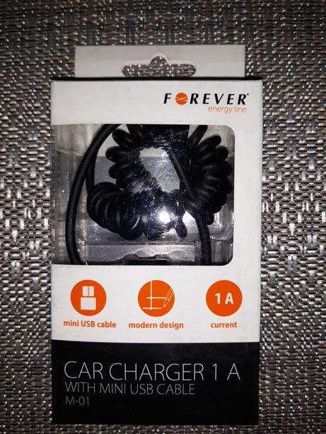 Ładowarka samochodowa Forever mini USB NOWA wysyłka 2zł