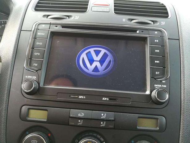 Rádios gps dvd bluethoot VW Seat Passat CC Passat golf 5 6 eos Polo