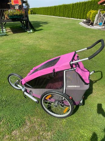 Croozer wózek dziecięcy biegowy i przyczepka rowerowa