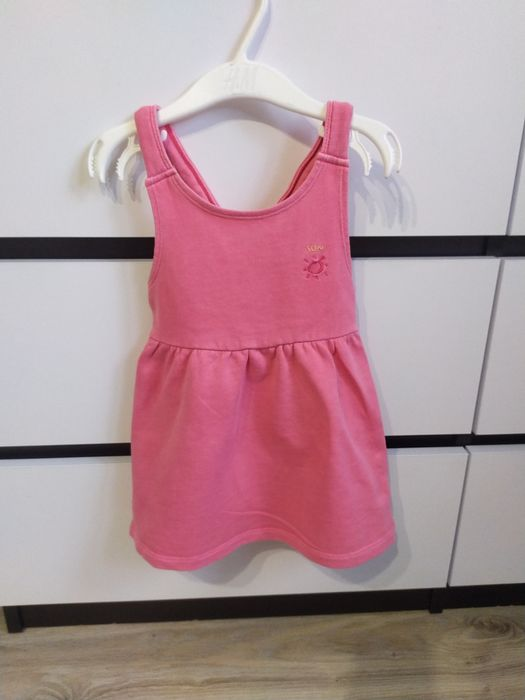 Sukienka Zara na szelki Zambski Stare - image 1