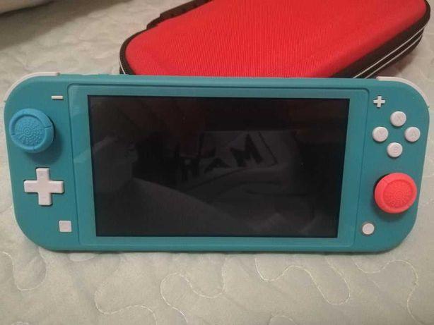 Nintendo switch lite 32gb + garantia 1 ano e meio