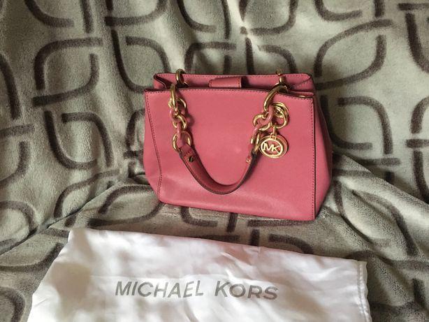 Оригинальная сумка Michael Kors Cynthia Small цвет Tulip