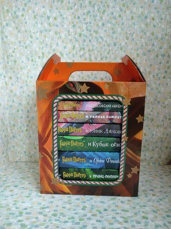 """Подарочный комплект из семи книг  """"Гарри Поттер"""""""