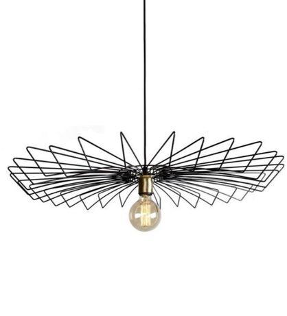 Lampa druciana nowodvorski czarna Ikea