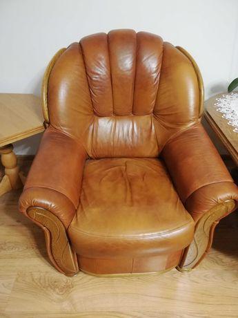 Sprzedam fotele ze skóry naturalnej