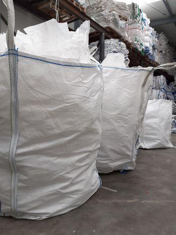 Big bag bagi begi mocne na gruz kamień 93x95x219 cm