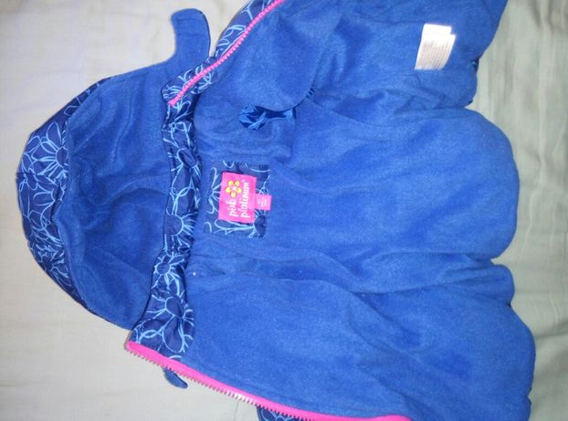 Куртка зима зимняя для девочки pink platinum на 12 мес 1 год