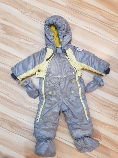 Kombinezon dziecięcy dla chłopca zimowy rozmiar 68/74 Coccodrillo