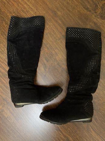 Ботинки сапоги carlabei zara h&m