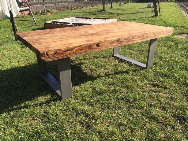 Stół, stolik, loft, industrialny