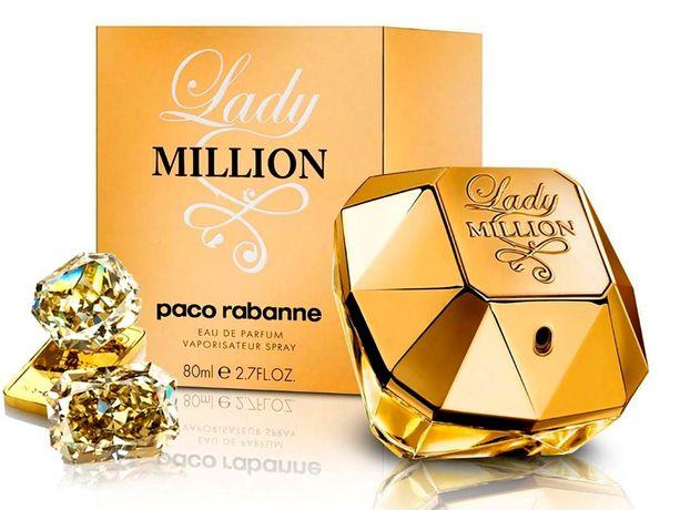 Духи женский Paco Rabanne Lady Million парфюмерия Пако Рабан Леди Милл