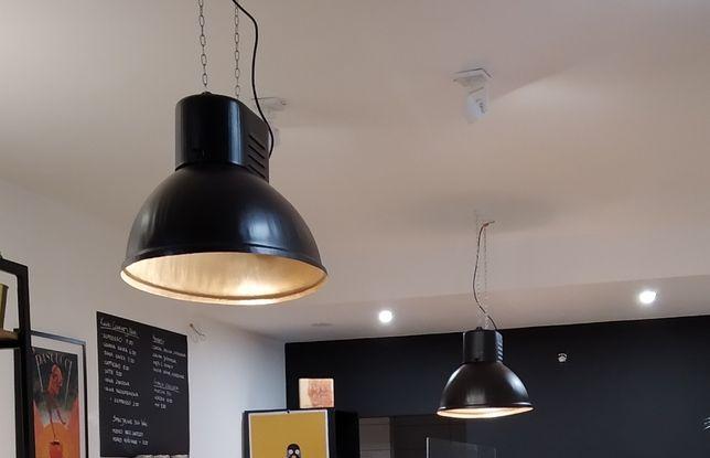 Lampa przemysłowa, loft, tzw. U-boot - odnowiona,