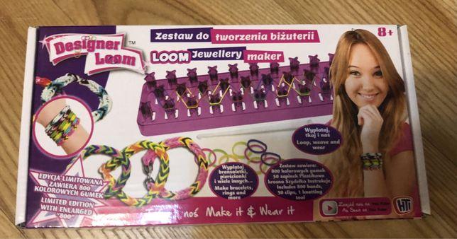 Zestaw Designer Loom do tworzenia biżuterii - nowy