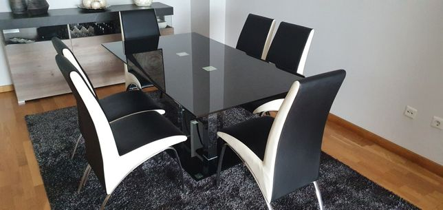 Conj. 6 Cadeiras de Jantar