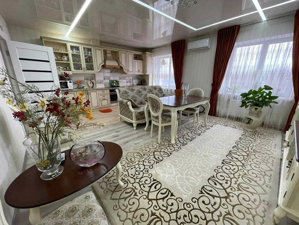 3х комнатная квартира в новом кирпичном доме на ХБК