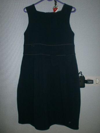 Сарафан, платье школьное SLY (Польша 158 см) - 750 рублей.