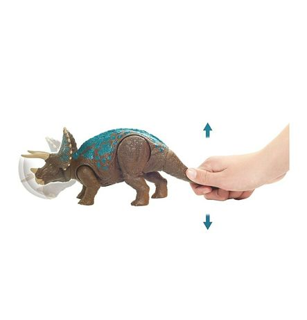 Jurassic world парк юрского периода трицератопс динозавр звук Осокорки