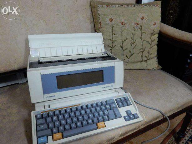 Canon Starwriter 80- máquina de escrever