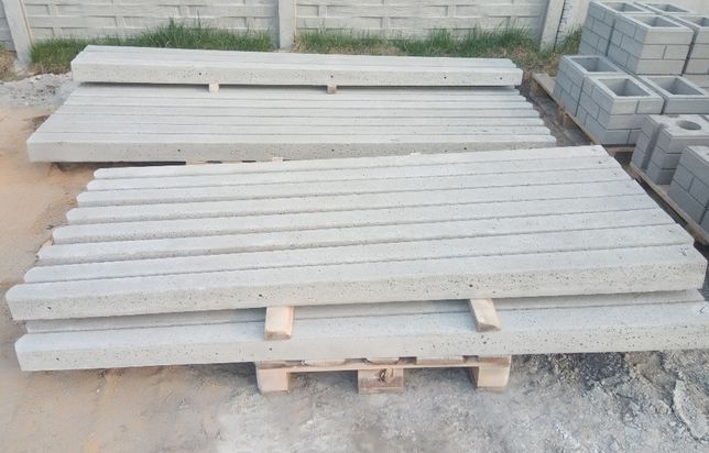 betonowe słupki do siatki, słupki do malin