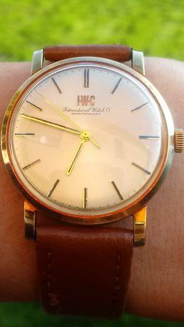 Zegarek IWC International Watch Co Schaffhausen 14K złoty z papierami