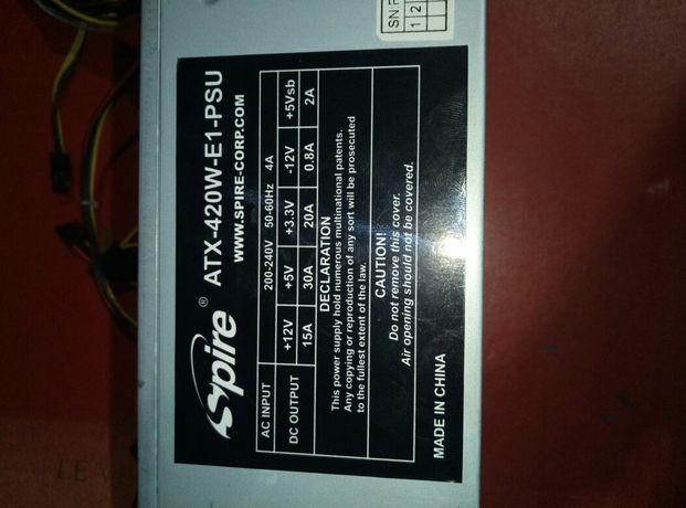 Блок питания SPIRE ATX-420W-E1-PSU