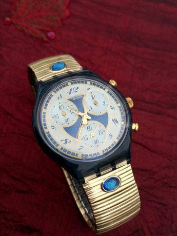 Zegarek Chronograf Szwajcarski Swatch