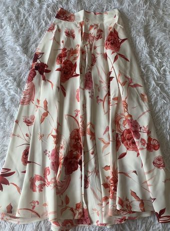 H&M piekna kloszowa spodnica Maxi ! 34 Nowa