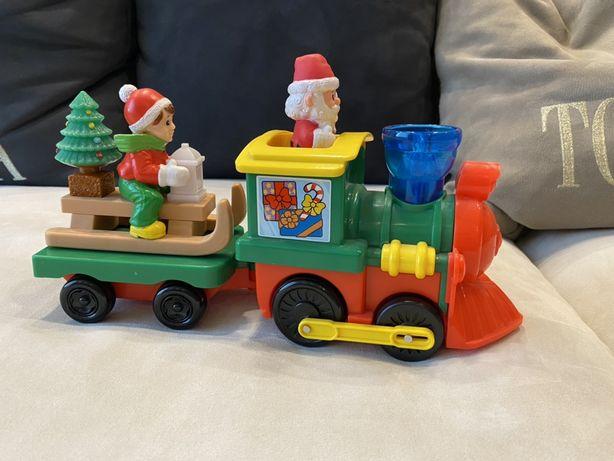 Музыкальный паровоз kiddieland, игрушка  kiddieland